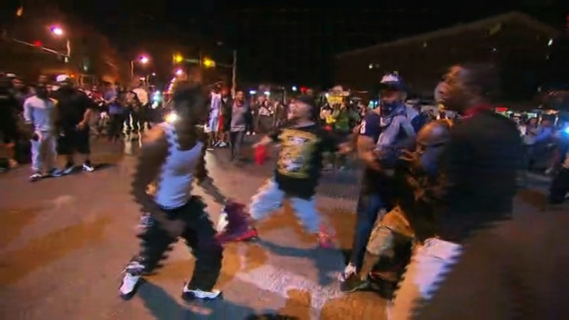 New protests in Baltimore just hours before curfew