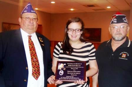PA Military Order of the Purple Heart Honors Fallen Teen Firefighter