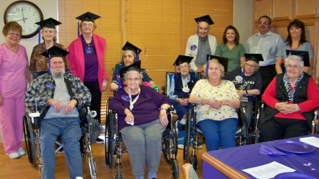 Area Agency on Aging Inc. and Christ the King Manor Graduate 10 PEERs