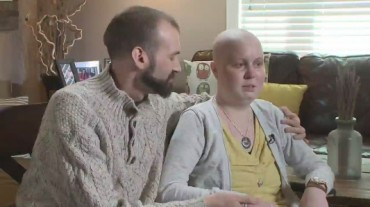 VIDEO: Unbroken: Husband and wife battle rare cancers