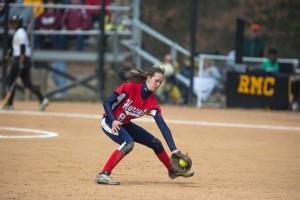 Megan Vanderburgh just completed her freshman season for Shenandoah, Va. (Photo courtesy Shenandoah Athletics)