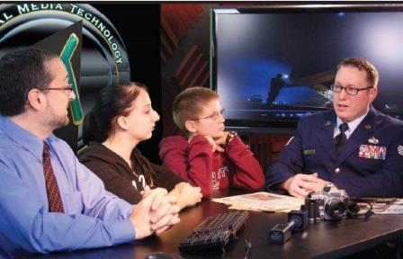 Jeff Tech Digital Media Students' TV Show to Feature Combat Photojournalist