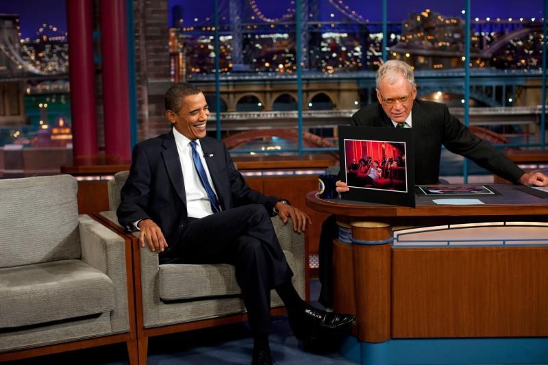 Fans, celebrities react to David Letterman's last show