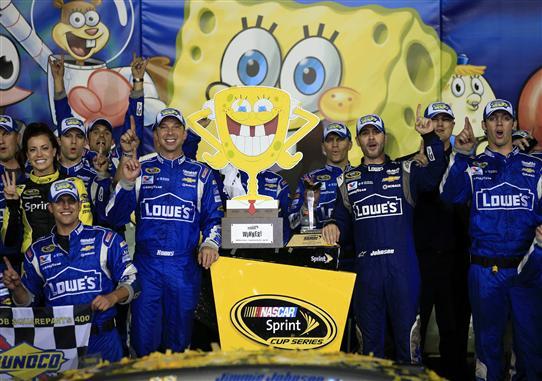 Parks Pit Report:  Spongebob Squarepants 400