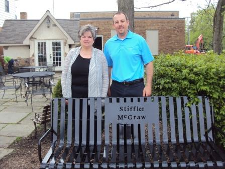 Bench Dedicated, Placed in Shaw Park