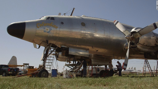The first Air Force One is wasting away in the Arizona desert