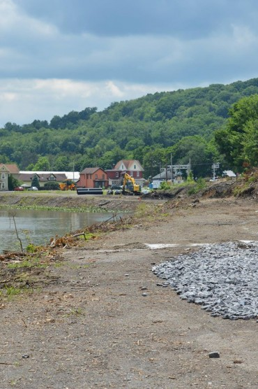 Photos:  Clearfield Riverfront Project