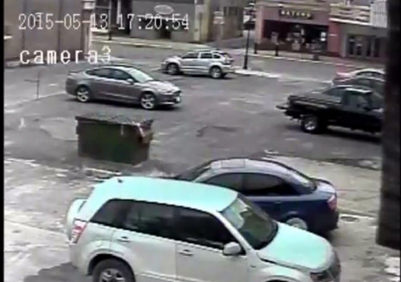 Video:  Surveillance Released in Hit and Run Incident in Clearfield