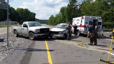 Fire Crews Respond to Accident on Rockton Mountain