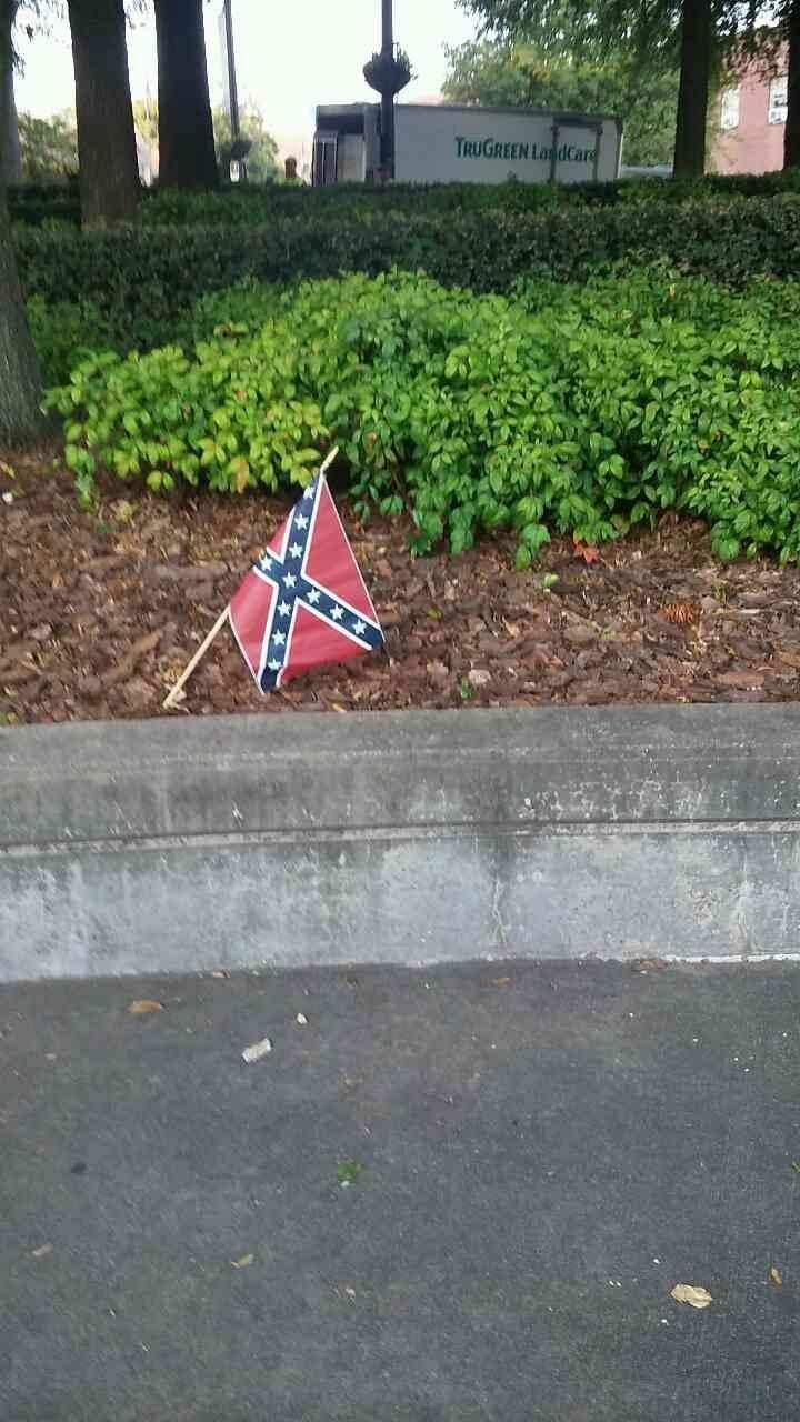Confederate flags found at MLK's church