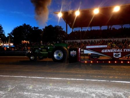 PHOTOS: Truck and Tractor Pull Revs up Fairgoers