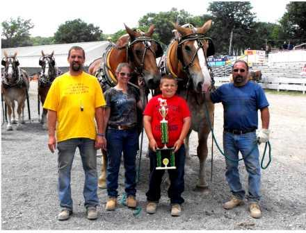Horse, Pony Pull Results Announced