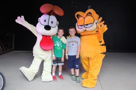 Fair's Kids' Day Program Featured Garfield