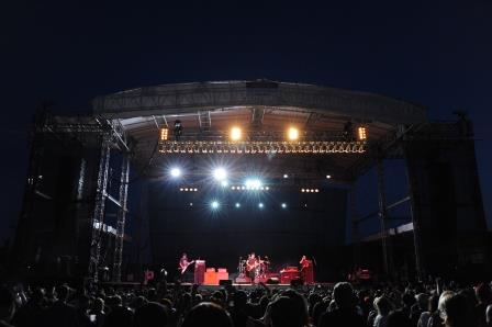 PHOTOS: Fairgoers Rock Out with Theory of a Deadman