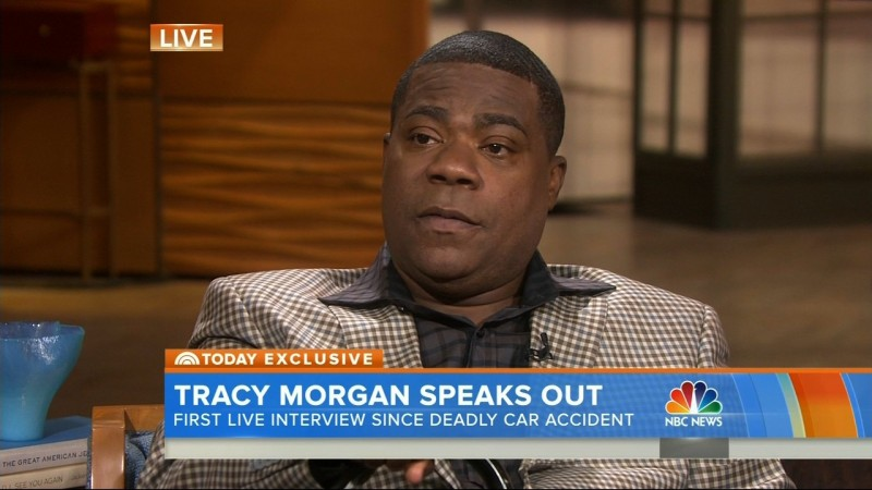 Tracy Morgan on coma: 'I went to the other side' and spoke to God