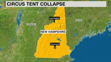 2 killed, dozens hospitalized in New Hampshire circus tent collapse