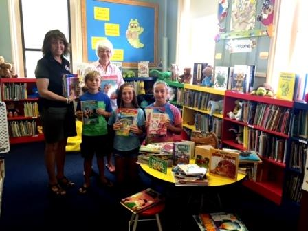 United Way Delivers Children's Books to Osceola Mills Library