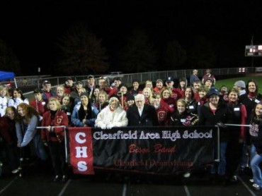 Clearfield Bison Alumni Band Carries on Tradition