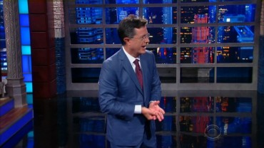 Stephen Colbert is ready for the worst in promo for his election night special