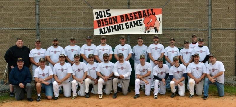 Team Peacock Dominates 11th Bison Baseball Alumni Game