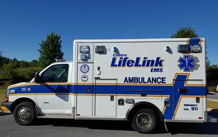Centre LifeLink Replaces Ambulance