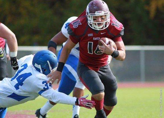 Campus Corner: Swales Scores Two Touchdowns; Lezzer Ends Grid Career Due to Concussions