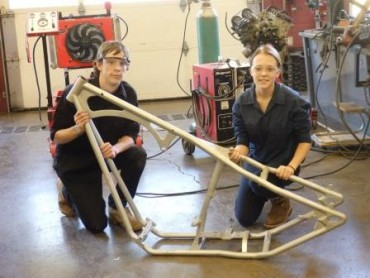 Students Start Chopper Project at CCCTC