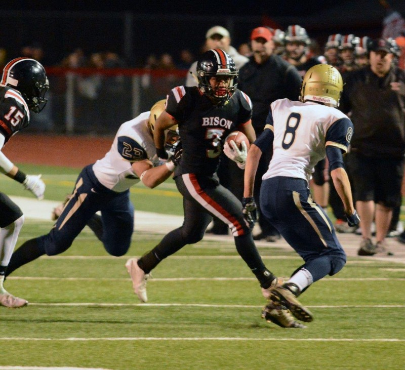 Bison Senior Class Lead Victory Charge over Bald Eagle Area
