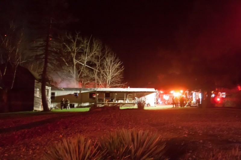 PHOTOS: Crews Respond to Mount Joy Fire
