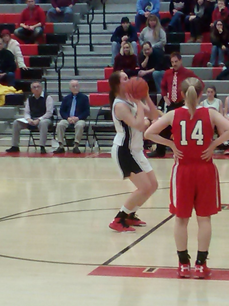 Lady Bison Fight Back Multiple Times To Achieve Win over Bellefonte