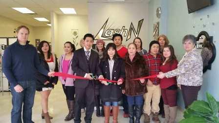 LashN Holds Ribbon-cutting Ceremony