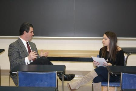 Entrepreneur Shares Tips for Success with Business Students
