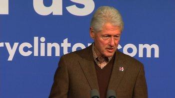 Bill Clinton rips Sanders backers' 'sexist,' 'profane' attacks