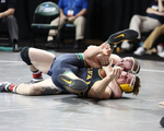 Barger Records 100th Win En Route To Repeating as NCAA Division III Bronze Medalist