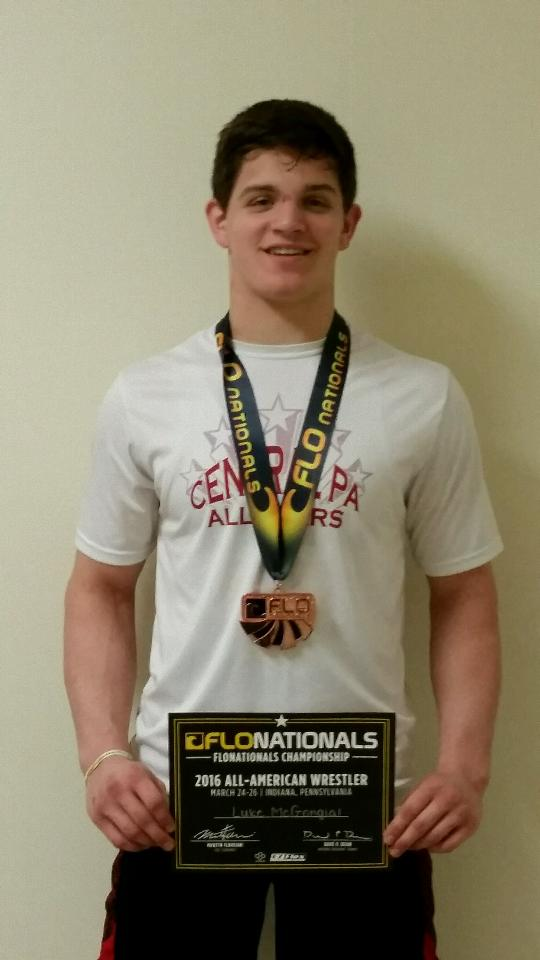 McGonigal Earns All-American Status at FloNationals