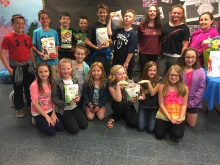 Clearfield Elementary Students Collect Items for Pets