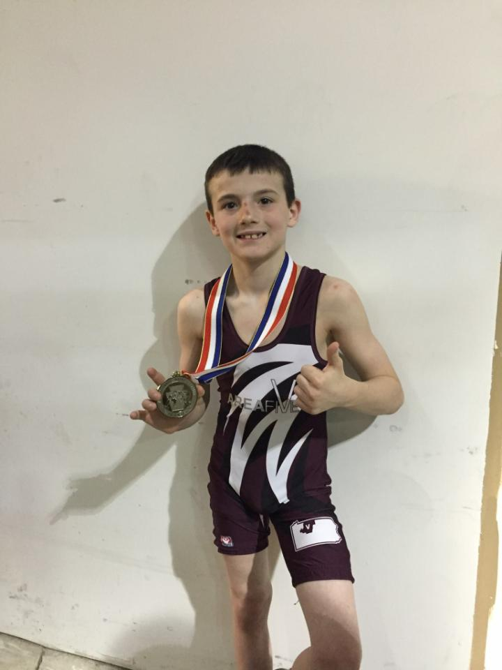 Brady Collins Earns Silver at PJW State Championships