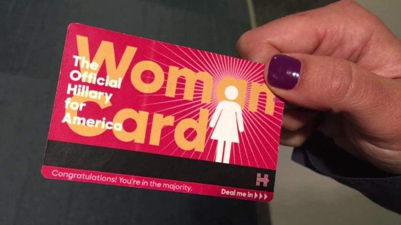 donald trump handed hillary clinton woman card election commentary