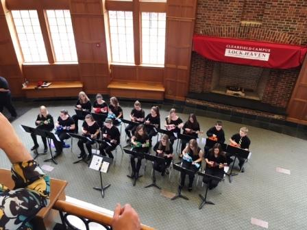 LHU Clearfield Holds Highly Successful First-ever Arts Day
