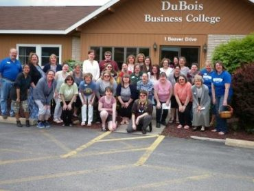 DuBois Business College Has Fun by Supporting Red Nose Day