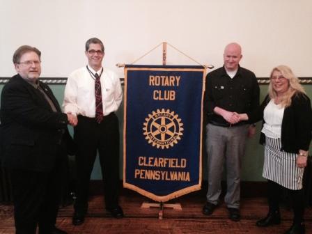 Clearfield Rotary Club Welcomes New Members