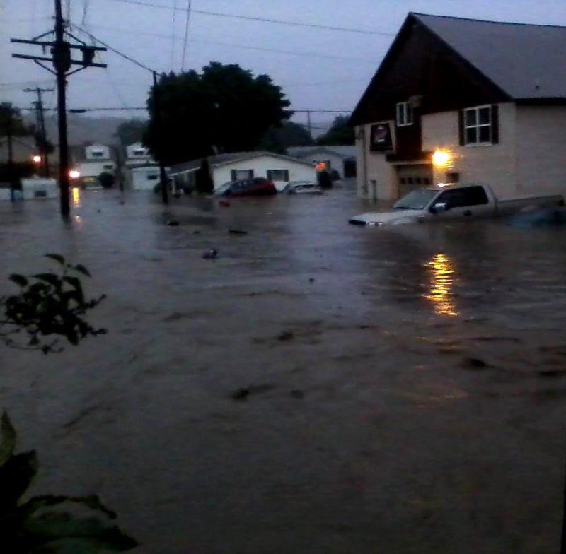 Along Her Street, GANT Correspondent Captures Devastation of Clearfield Flood