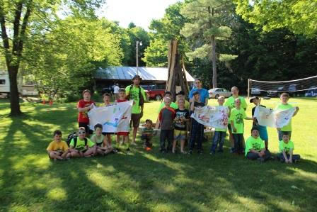 Scouts Host Summer Camp