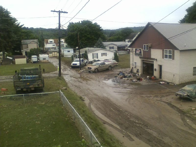 UMCOR Completes Flood Damage Repairs on 177 Homes in Clearfield Borough