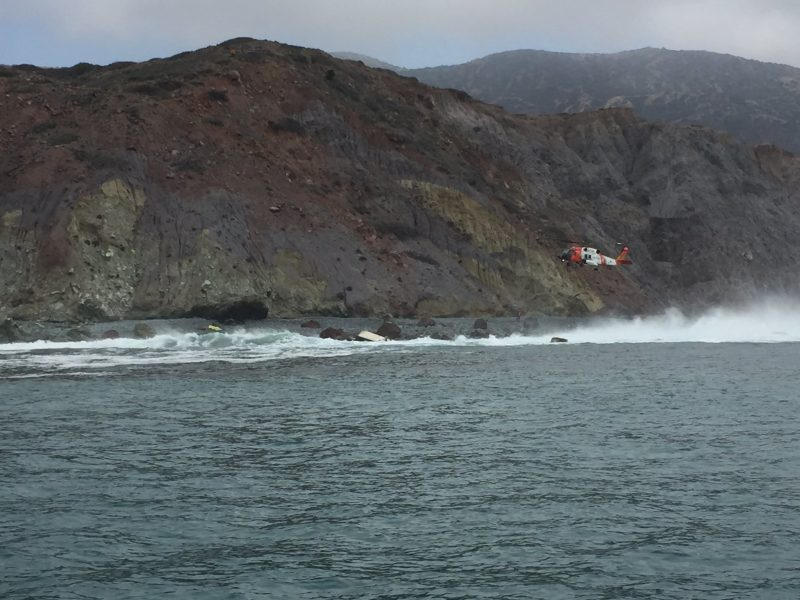 3 dead after boat capsizes off California's Catalina Island