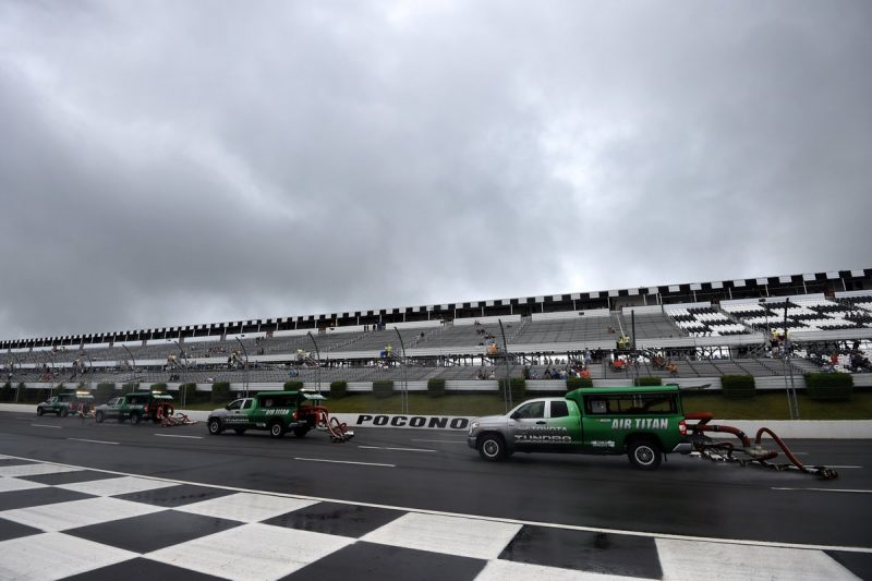 Parks Pit Report:  Pennsylvania 400 POSTPONED