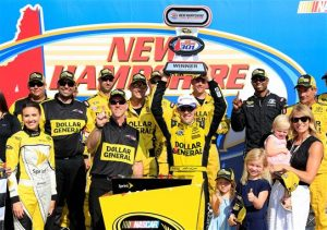 Matt Kenseth took the victory at New Hampshire, while leading into the week the focus was on a driver who stepped aside.