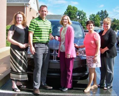 Friends of the Area Agency on Aging Auxiliary Donate to Agency