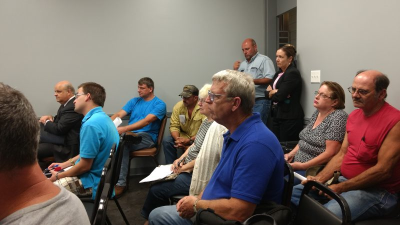 Clear Run Residents Voice Concerns about Proposed Waterline Project