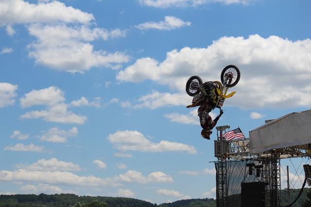PHOTO SLIDESHOW: Dialed Action Sports Team FMX Stunt Show